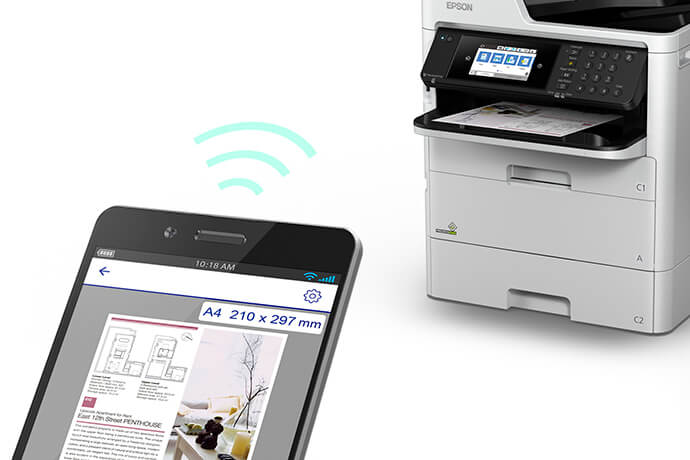 Oferta renting Epson WorkForce Pro WF-C579R, IPGRUP