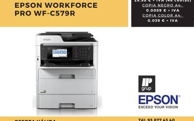 Oferta renting impresora Epson WorkForce®Pro WF-C579R