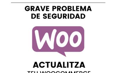 Grave problema de seguridad con el plugin de WooCommerce para WordPress